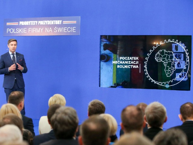 """Presidency priorities: Polish companies in the world"" Animated Presentation"